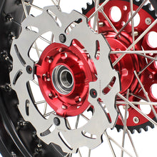 Load image into Gallery viewer, KKE 3.5*16.5 & 5.0*17 Supermoto Wheels Set for Honda CRF250R 2014-2020 CRF450R 2013-2020 Red Hub