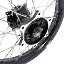 Load image into Gallery viewer, KKE 21 & 19 MX Casting Rim for Honda CRF250R 04-13 CRF450R 02-12 Black