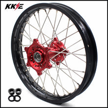 Load image into Gallery viewer, KKE 18 Inch Enduro Rear Wheel Rim for Husqvarna TE TC FE FC SMR TXC  2000-2013 Red Hub