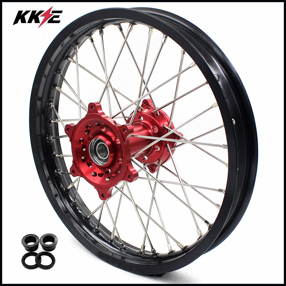 KKE 18 Inch Enduro Rear Wheel Rim for Husqvarna TE TC FE FC SMR TXC  2000-2013 Red Hub