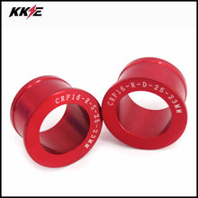 Load image into Gallery viewer, OEM CNC Rear Spacer Bushings Collars for Honda CR125R CR250R CRF250R CRF450R