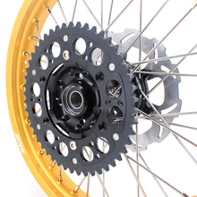 Load image into Gallery viewer, KKE 21 & 19 MX Gold Rims for Suzuki RM125 RM250 1996-2000 Black Hub
