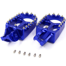 Load image into Gallery viewer, KKE ORANGE BLUE BLACK CNC FOOTPEGS PEDALS FOR KTM SX SXF XC XCF 125 150 250 350 450 2016-2019 - KKE Racing