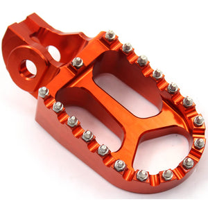 KKE ORANGE BLUE BLACK CNC FOOTPEGS PEDALS FOR KTM SX SXF XC XCF 125 150 250 350 450 2016-2019 - KKE Racing