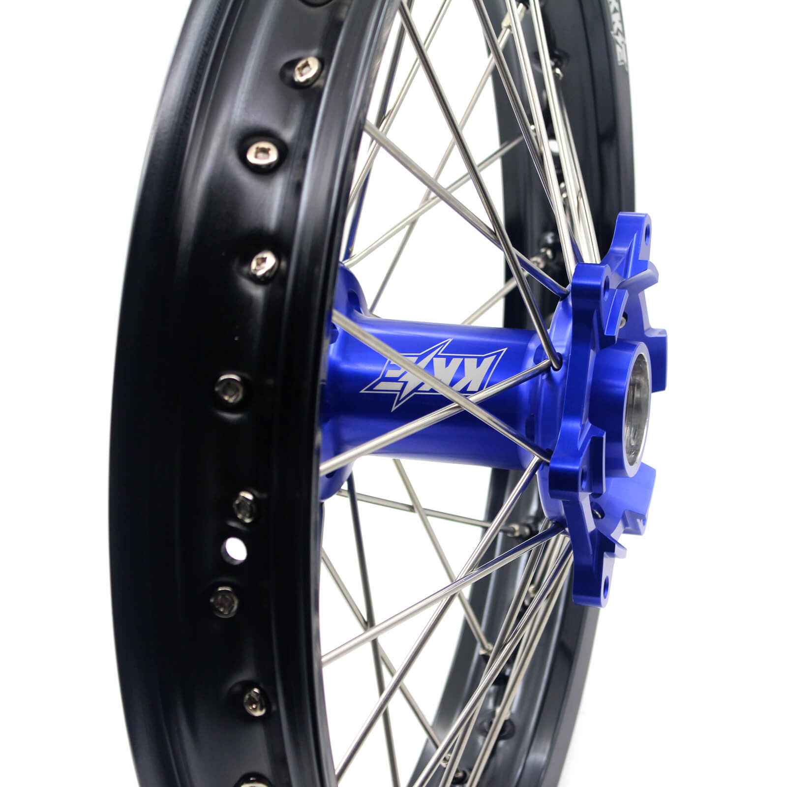 21/18 ENDURO WHEELS SET FOR KTM EXC EXC-F XCW XC 125-530 2003-2019 BLUE HUBS - KKE Racing