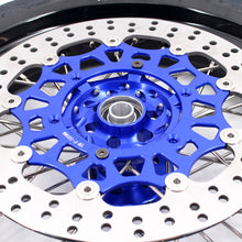 Load image into Gallery viewer, KKE 3.5 & 4.25 Supermoto Motard Wheels Rims for Suzuki DRZ400SM 2005-2018 Tires Blue