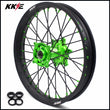 KKE 19 Inch Rear Wheel for KAWASAKI KX250F KX450F 2019 Green Black