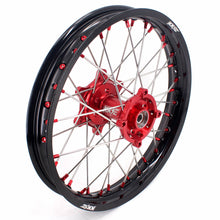 Load image into Gallery viewer, KKE OEM SIZE 21 & 18 Enduro Wheels Rims Set for Honda XR650L 1993-2020 Red Nipple