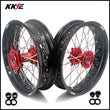 KKE 3.5 & 4.25 Supermoto Wheels Rims for GAS GAS Enduro Bikes 2018-2020