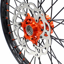 Load image into Gallery viewer, KKE 21 & 19 MX Wheels for  SX SX-F XC SXF 2003-2020 Black Spoke