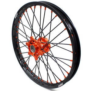 KKE 21 & 19 MX Wheels for  SX SX-F XC SXF 2003-2020 Black Spoke