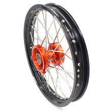 Load image into Gallery viewer, KKE 14 & 12 Small Kid's Wheels Rims Set for KTM 65 SX 2002-2019 Orange