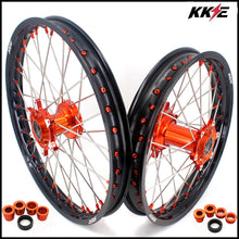 Load image into Gallery viewer, KKE 21 & 19 Cast Wheels for KTM SX SX-F XC XC-F 125-530 2003-2021 Orange