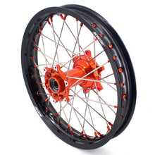 Load image into Gallery viewer, KKE 21 & 18 Casting Enduro Wheels for KTM EXC EXC-F EXC-E 2003-2020 Orange Nipple