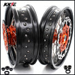 KKE 3.5 & 4.25 Cush Drive Supermoto Wheels for SX SX-F XC-F EXC 2003-2021 Disc