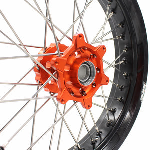 KKE 3.5 & 5.0 Cush Drive Supemoto Wheels for KTM EXC SX SX-F EXC-W XCF 2003-2020