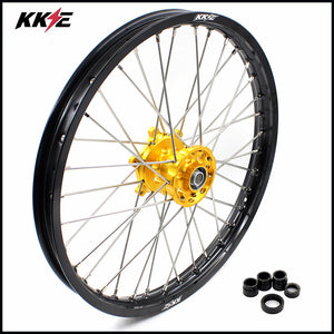 KKE 21 Front Wheel for Suzuki RM125 1996-2007 RM250 1996-2008 Gold