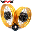 VMX 19 & 17 Tubeless Rims Fit Honda Africa Twin CRF1000L 2016 Gold Rims