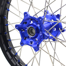 Load image into Gallery viewer, KKE 21 18 Rims for Yamaha WR250F 2001-2016 WR450F 2003-2015 Blue Nipple