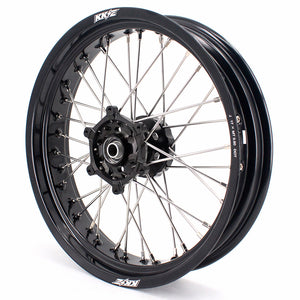 KKE 3.5 & 5.0 17 Inch Wheels for Yamaha WR250F 2001 WR450F 2003-2018 Black