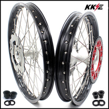 Load image into Gallery viewer, KKE 21 & 19 Casting Wheels Rims Set for Honda CR125R 1998-2001 CR250R 1997-2001 240mm Brake Discs Rotors