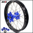 "KKE 19"" Rear Wheel Rim for Yamaha YZ125 YZ250 YZ250F YZ450F Blue Hub"