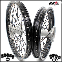 Load image into Gallery viewer, KKE 21 & 19 Casting MX Wheels for YAMAHA YZ250F 2001-2020 YZ450F 2003 Silver