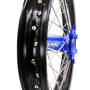 "KKE 18"" Rear Wheel for Yamaha YZ250F YZ450F YZ125 YZ250 WR250F WR450F Blue"