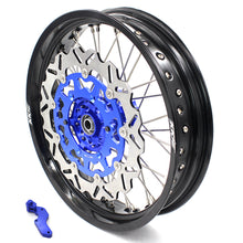 Load image into Gallery viewer, KKE 3.5 & 4.25 SM Wheels for YAMAHA YZ125 YZ250 YZ250F YZ450F Blue