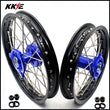 KKE 14 & 12 Kids Wheels Rims Set for YAMAHA YZ65 2018-2019 Blue