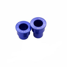 Load image into Gallery viewer, Replacement Spacers ONLY for KKE Wheels  Front 20mm Rear 22mm Spacer Kit for Yamaha YZ125 YZ250 Blue