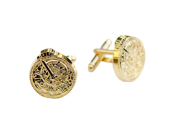 Astrolabe Cufflinks (Gold)