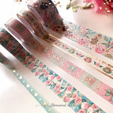 Alice Washi Tape Collection Warm Gold Foil - Restocked New Foil