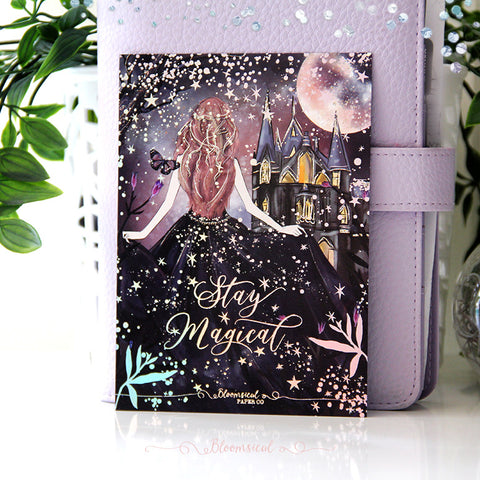 Enchanted Night Journaling Card