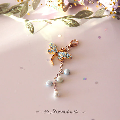 Dragonfly Handcrafted Dangle Planner Charm Accessories