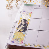 Honey Bee Sidebar Sticker  - Gold Foil Accents