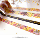 Honey Bee Washi Tape Collection Bright Gold Foil