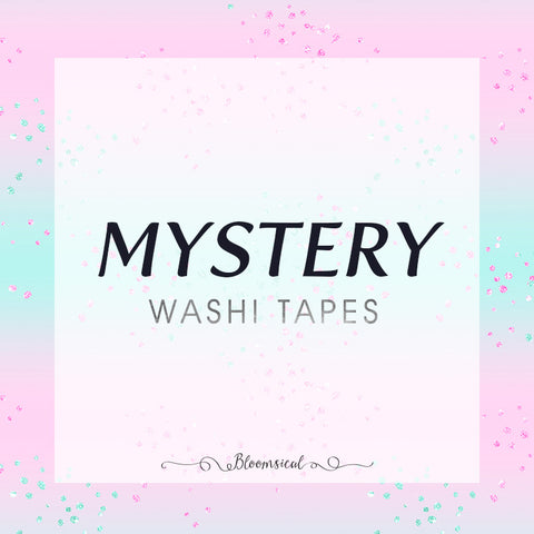Mystery Washi Tapes Bundle of 25