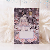 Nutcracker Journaling Card with Holo Foil Accents