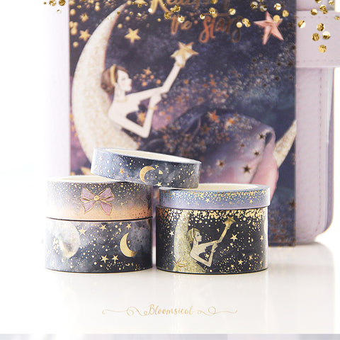 Reach for the Stars Washi Tape Collection Gold Foil