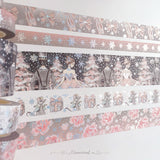 The Nutcracker Washi Tape Collection Silver Holo Foil