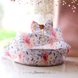 Wonderland Floral Grosgrain Printed Ribbon