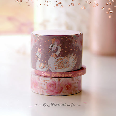 Woodland Dusk V2 Washi Tape Collection Rose Gold Foil