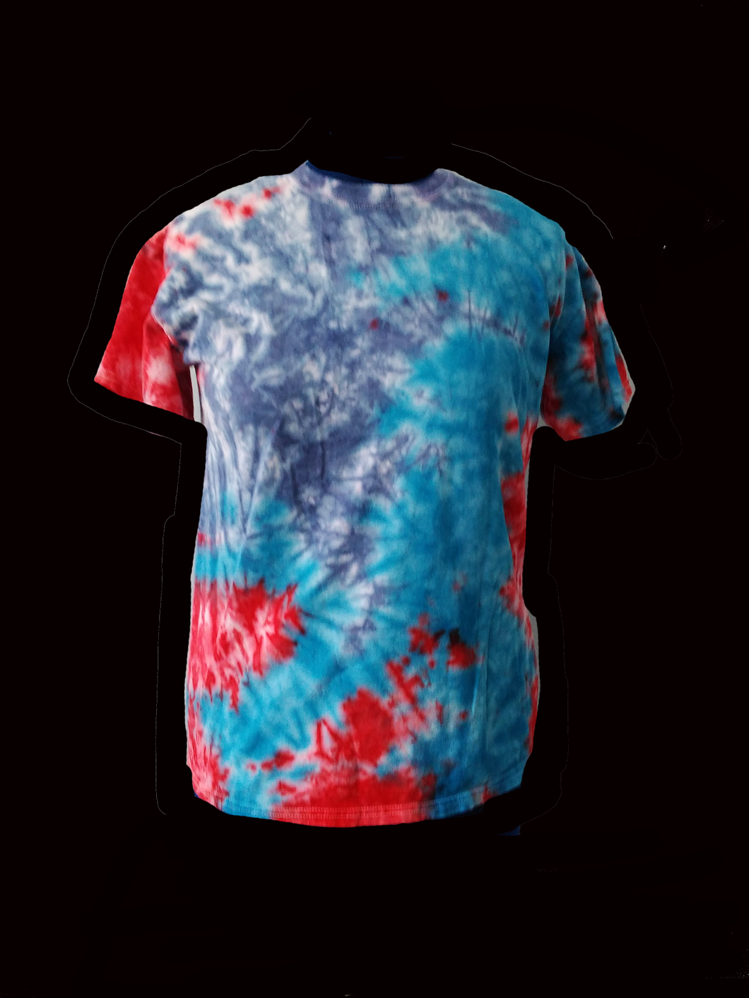 Men's Short-Sleeve Tie Dye Tee/Fracking
