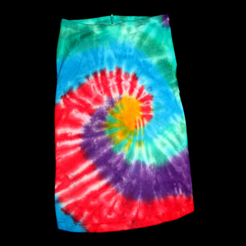 Tie dye Horn of plenty Doggie tank