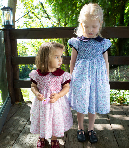 Sue Hill traditional hand smocked dresses