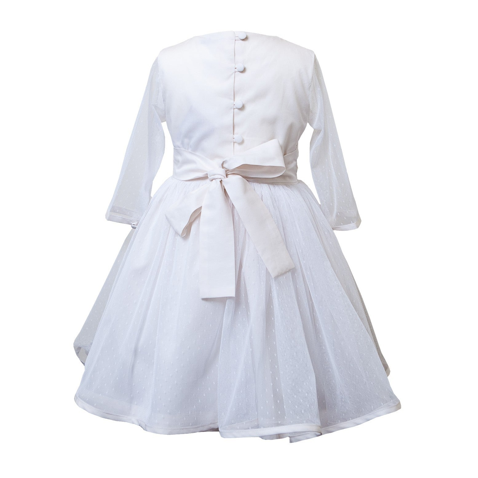 Sue Hill first communion dress Amy Tulle