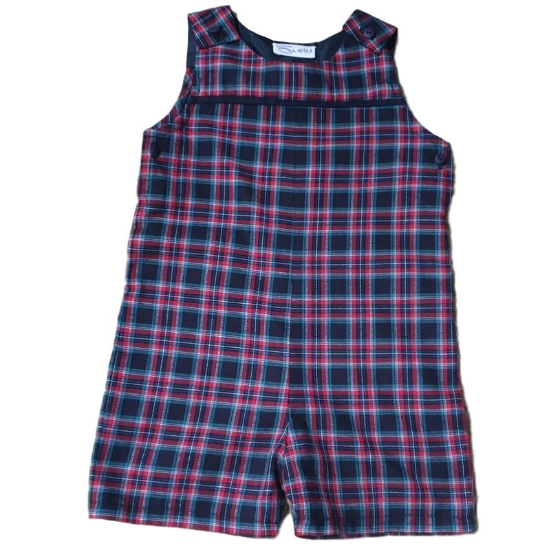 Tartan Playsuit 12-18m - 50% off