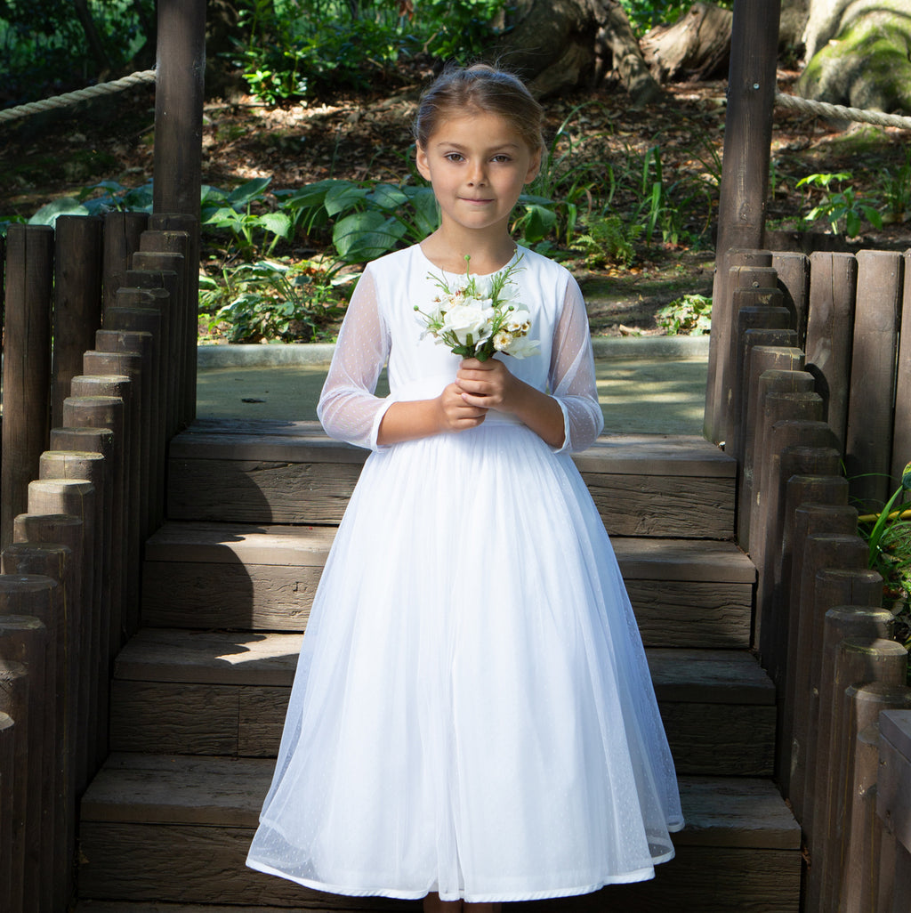 Amy Tulle Communion Dress