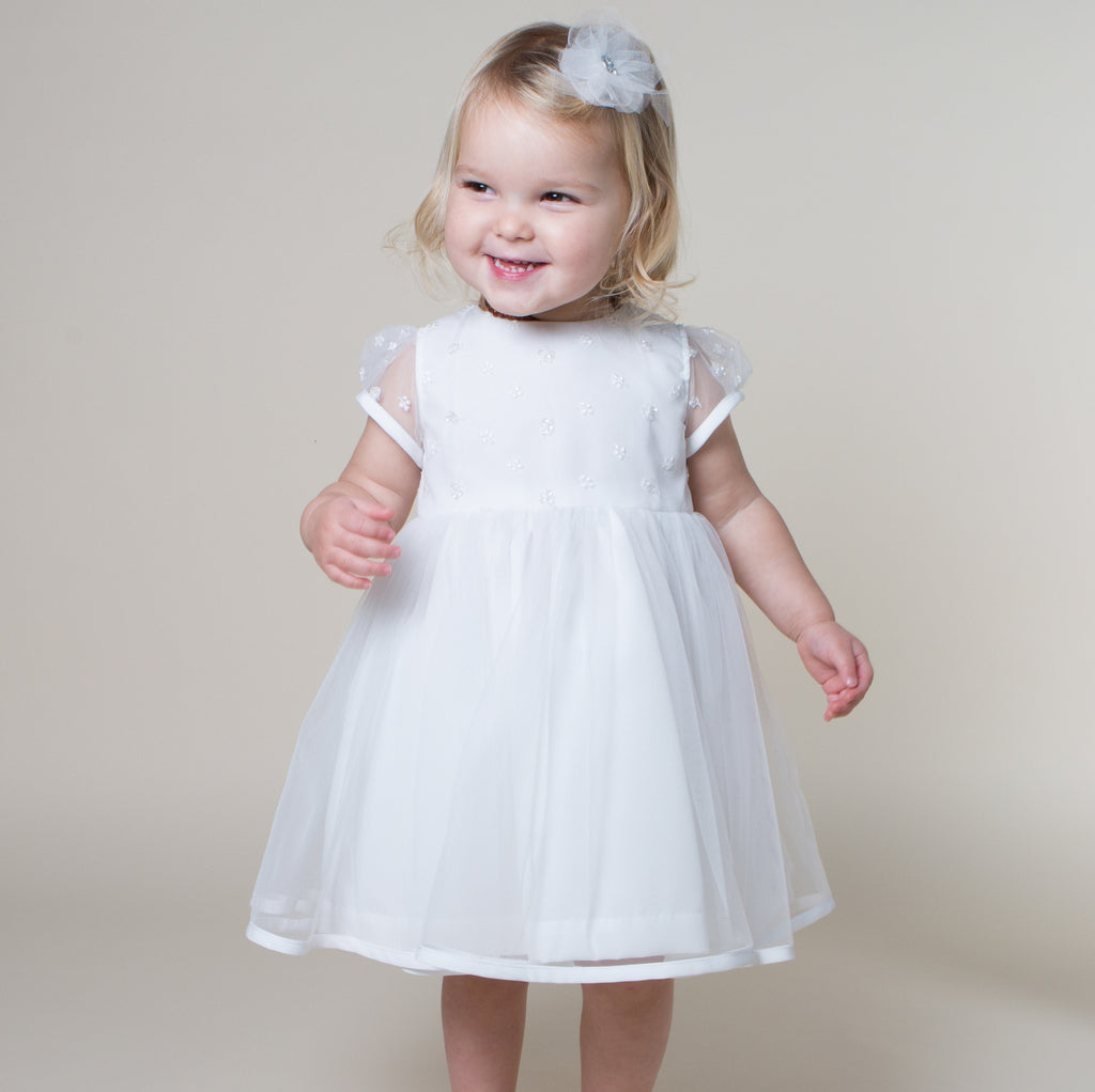 b8672df3efe Sue Hill Harriet baby toddler flower girl christening dress